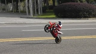 Super Rider SR4 -- More Wheelies And Cart Wheelies