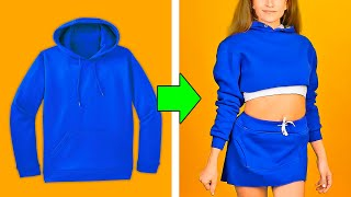 Video 32 BUDGET CLOTHING HACKS YOU HAVE TO TRY MP3, 3GP, MP4, WEBM, AVI, FLV Juni 2019