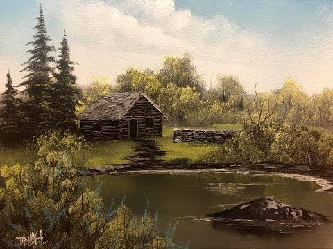 """The Painting With Magic Show SE:6 EP:5 """"Old Hunting Cabin"""""""