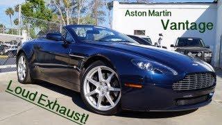Aston Martin Vantage: Review + Exhaust + Walkaround