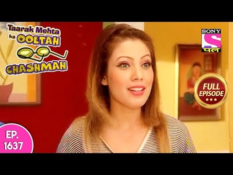 Taarak Mehta Ka Ooltah Chashmah - Full Episode 1637 - 1st January, 2019
