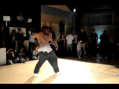 Popping - танцует Rashaad