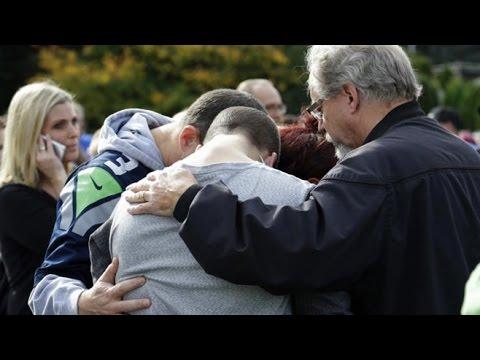 Washington - Two people dead, including student gunman, at Marysville-Pilchuck High School.