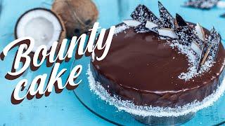 Bounty Mousse Cake - Chocolate Coconut Mousse Cake