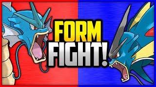Gyarados vs Mega Gyarados | Pokémon Form Fight by Ace Trainer Liam