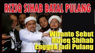 Video AKHIRNYA Rizieq Shihab LAGI LAGI Batal Pulang ke Indonesia MP3, 3GP, MP4, WEBM, AVI, FLV Februari 2018
