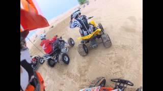 10. Silver Lake Sand dunes 2013 cruising on my Polaris Outlaw 525