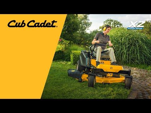 Садовый райдер бензиновый CUB CADET XZ1 137 с нулевым радиусом разворота - видео №1