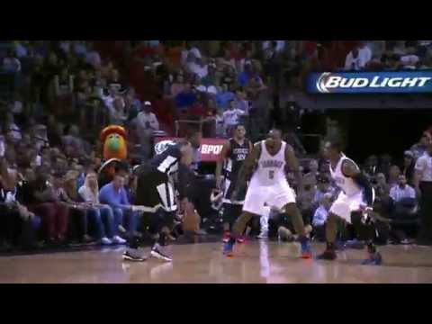 Kevin Durant Leads Balanced Thunder Attack in Miami