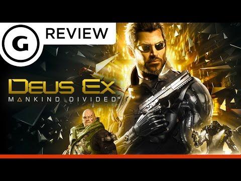 обзор Deus Ex Mankind Divided