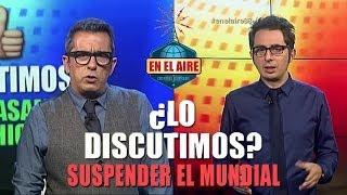 Berto Romero Y Andreu Buenafuente Discuten Sobre El Mundial - En El Aire