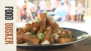 Traditional Canadian Poutine Recipe | Food Busker by Food Busker