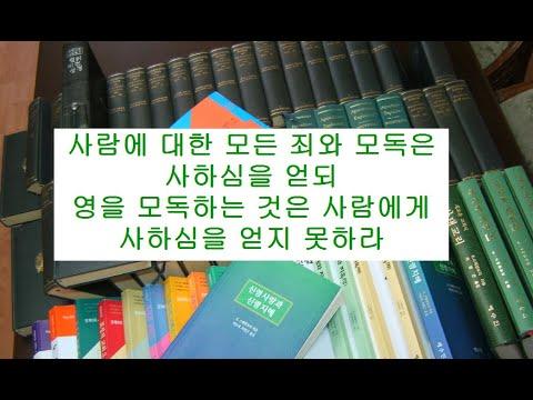 마태복음영해설교12장29-32절