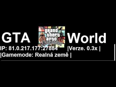 Nov� GTA SA:MP Server 0.3x