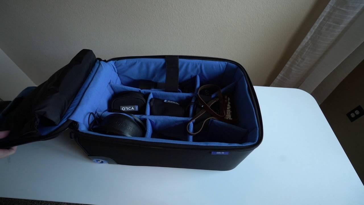 OR -11 ROLLING CAMERA BAG