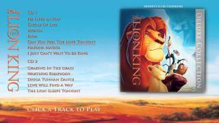 The Lion King Soundtrack - Deluxe Edition - Album Sampler