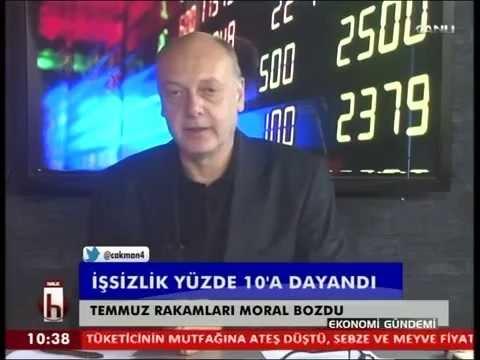 Dr. Cüneyt Akman'la Ekonomi: İşsizlik %10'a dayandı
