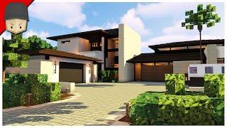The Best Minecraft Modern House?!