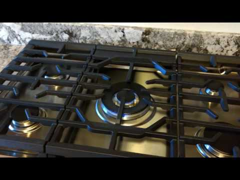 Samsung gas cooktop installation #2
