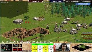 AOE | 4vs4 Random | GameTV vs 6699 | Ngày 19-11-2018 | BLV:G_Kami