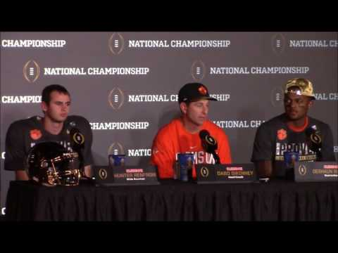 Download TigerNet.com - Dabo Swinney calls Colin Cowherd a fraud after winning national title HD Mp4 3GP Video and MP3