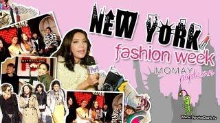 โมเมพาเพลิน : New York Fashion Week