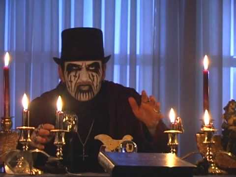 King Diamond Reads the Puppet Master