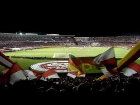 INTER x Estudiantes - Libertadores 2010 - Oh Inter! POPULAR ANOS 60 - Guarda Popular - Internacional - Brasil - América del Sur