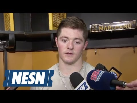 Video: Ryan Donato on the Bruins 4-2 loss to the Capitals