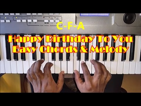 Search Results For Cool Chord Piano Lagu Happy Birthday To You