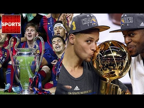 What NBA Teams Are Like Which SOCCER Teams? [WARRIORS = FC BARCA?]