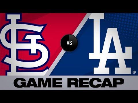 Video: Bellinger, Pederson homer in Dodgers' 8-0 win | Cardinals-Dodgers Game Highlights 8/5/19
