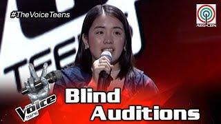 Video The Voice Teens Philippines Blind Audition: Patricia Luna - Angel MP3, 3GP, MP4, WEBM, AVI, FLV Maret 2019