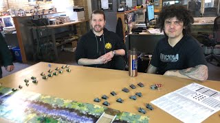 Micro Brick Battle - Khalkhin Gol live gameplay at Brickmania HQ