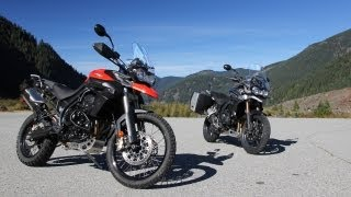 8. Triumph Tiger 800 XC and Tiger Explorer 1200 Review: Cat Video
