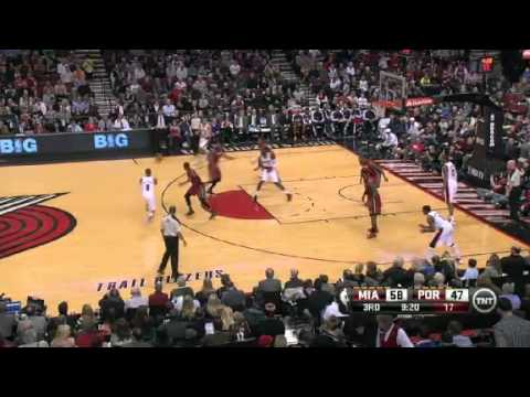 Nicolas Batum&#8217;s Wonderful Dunk On The Heat