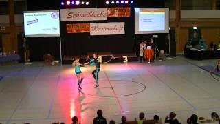 Tamara Lenz & Philipp Liepert - Schwäbische Meisterschaft 2013