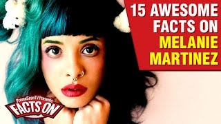 15 Awesome facts on Melanie MartinezMelanie Martinez facts and information on the rising pop star.Melanie Martinez has a legion of loyal fans, who love her music and love who she is. What are some interesting facts about Melanie Martinez? You will find out what some of these facts are in this video. ::: Also Watch :::10 Richest YouTubers - 2016 Editionhttps://www.youtube.com/watch?v=JDjMB1QVG1M5 Famous Youtubers No Longer Famous! - Vol. 1https://www.youtube.com/watch?v=yuDpp7dMSUI10 Scariest YouTube Channels!https://www.youtube.com/watch?v=sT88FiZz0TAYouTubers with Weird Medical Conditions!https://www.youtube.com/watch?v=NfrgZnGKXg07 YouTubers Injured While Filming for YouTube - Facts Onhttps://www.youtube.com/watch?v=JNP0Jg1L-3s--Music by DJ ViperVexxhttp://www.youtube.com/user/ViperVexX:::FOLLOW and FIND ME HERE:::Facebook: http://tinyurl.com/c4on5yhInstagram: http://www.instagram.com/keseankentonTwitter: http://tinyurl.com/mtvzb32Tumblr: http://tinyurl.com/q85lkwkGoogle+: http://tinyurl.com/kq3y88z