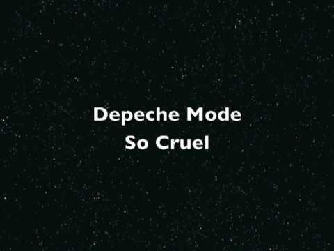 Depeche Mode - So Cruel (U2 Cover) lyrics
