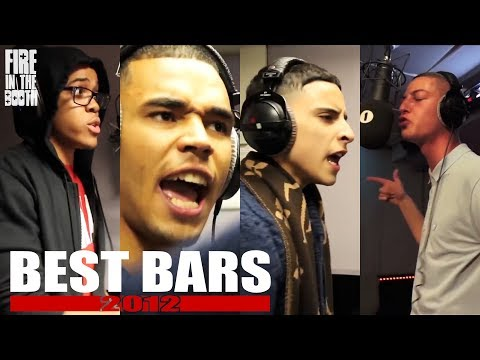 Fire In The Booth 2012 Best Bars inc. Chip, Yungen, Geko, Devlin +more