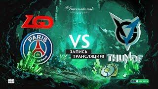 PSG.LGD vs VGJ.Thunder, The International 2018, game 2