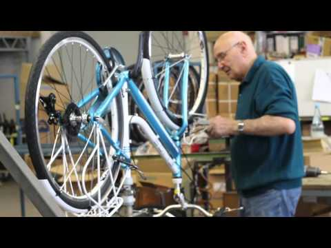 Cicli Elios May: Assembly line FAST FORWARD CLIP