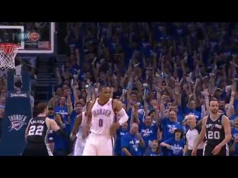 Video: Russell Wesbrook Scores 40, Dishes 10 in Game 4 Win
