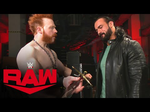 Sheamus gifts Drew McIntyre some inspiration: Raw, Nov. 16, 2020