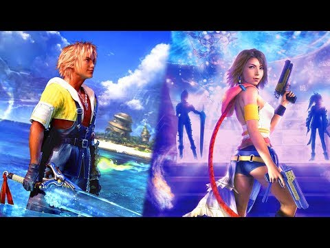 Final Fantasy X And X-2 HD Remaster Switch Gameplay