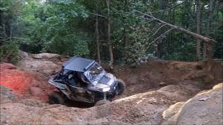 5. Patrick going up Trail 15 @ Windrock in new RZR 1000 XP Gold LE