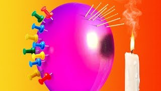 Video 29 CLEVER TRICKS AND EXPERIMENTS WITH BALLOONS MP3, 3GP, MP4, WEBM, AVI, FLV November 2018