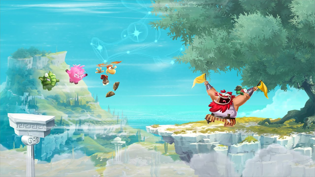 Rayman Adventures is one of the must-game in your game collection