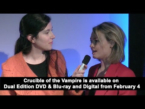 EXCLUSIVE Interview: Katie Goldfinch | Crucible of the Vampire (The Fan Carpet)