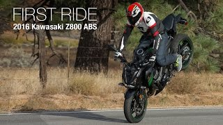 4. 2016 Kawasaki Z800 ABS First Ride Review - MotoUSA